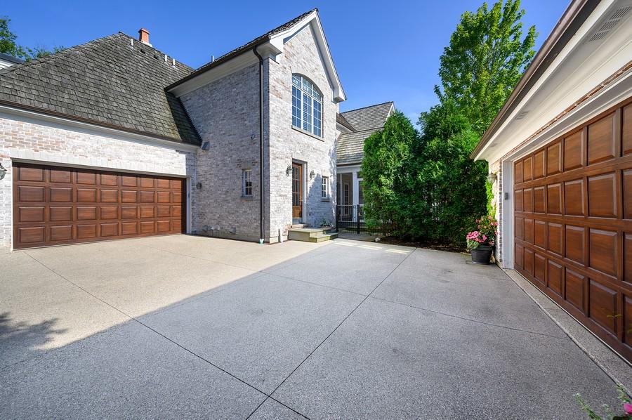 Real Estate Photography - 4 Golf Lane, Winnetka, IL, 60093 - Garage