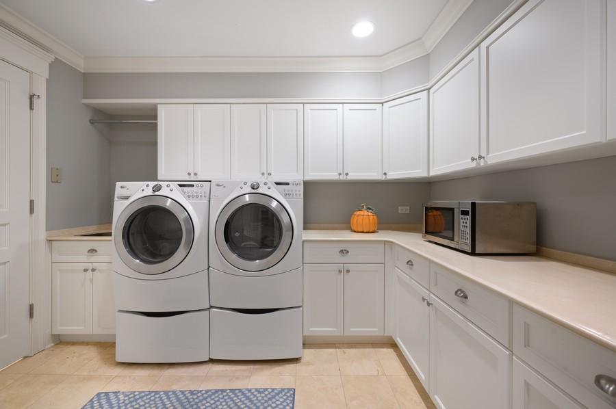 Real Estate Photography - 4 Golf Lane, Winnetka, IL, 60093 - Laundry Room