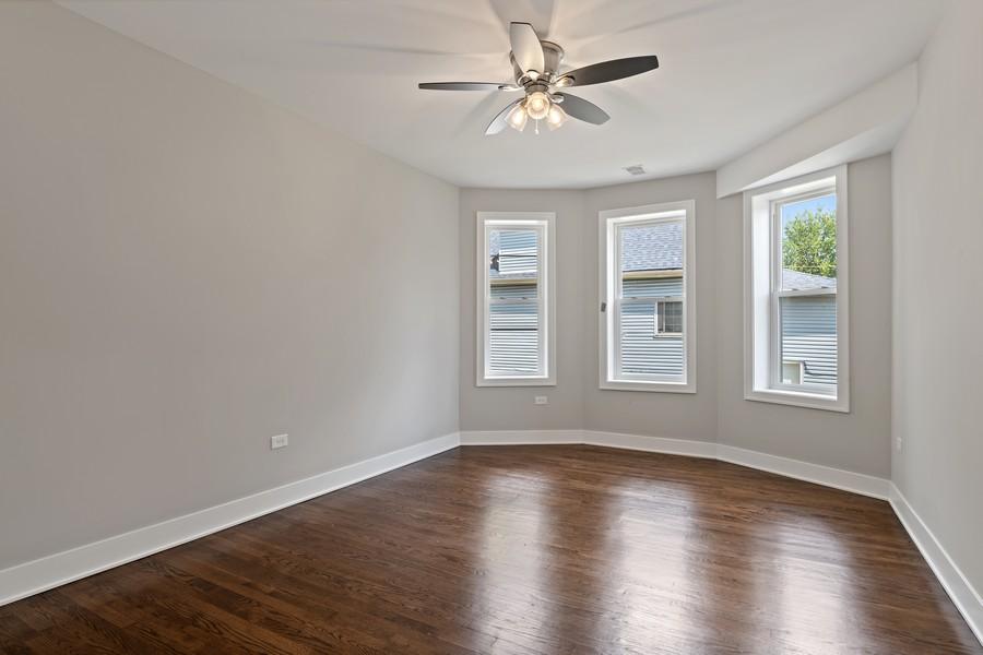 Real Estate Photography - 5349 W Van Buren St, 1st Floor, Chicago, IL, 60644 - 2nd Bedroom