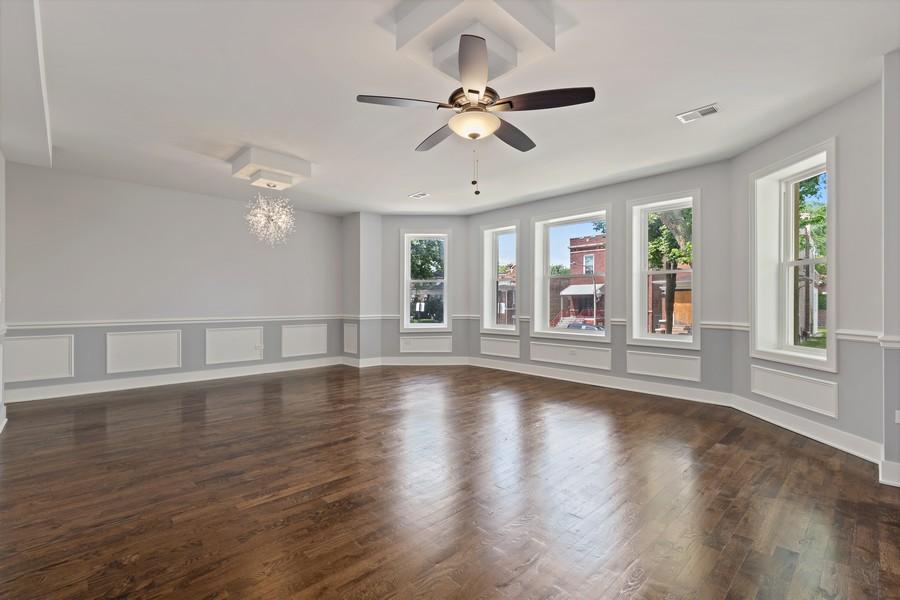 Real Estate Photography - 5349 W Van Buren St, 1st Floor, Chicago, IL, 60644 - Living Room