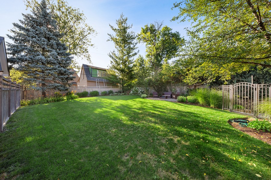 Real Estate Photography - 215 S Madison St, Hinsdale, IL, 60521 - Back Yard