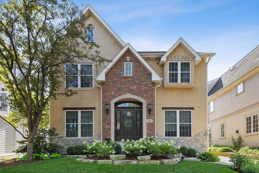 Real Estate Photography - 215 S Madison St, Hinsdale, IL, 60521 - Front View