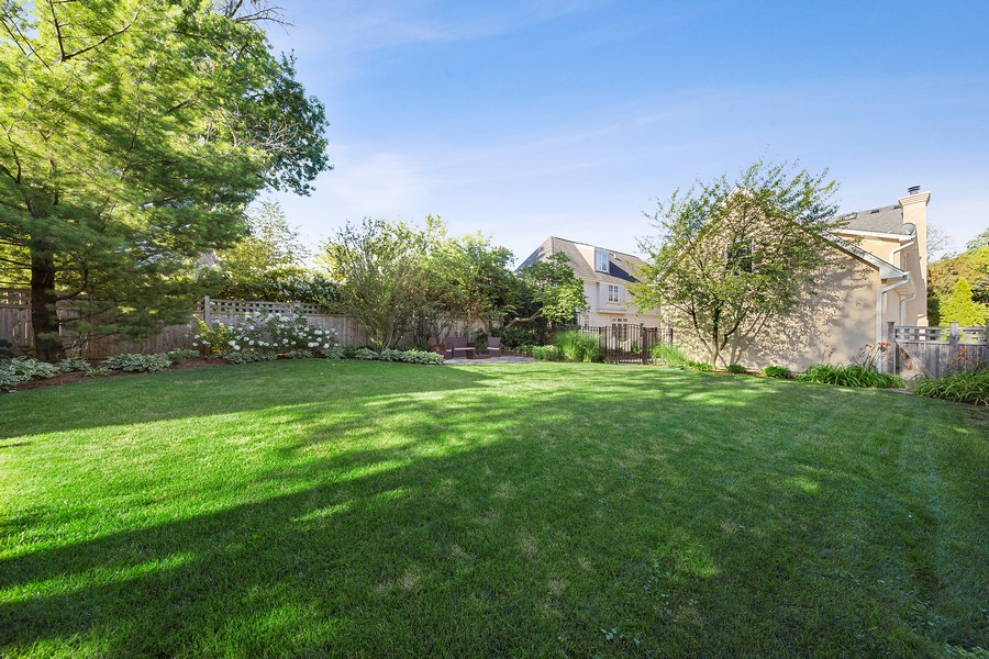 Real Estate Photography - 215 S Madison St, Hinsdale, IL, 60521 - Rear View