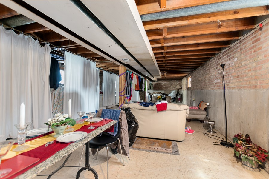 Real Estate Photography - 6500 S BELL AVE, Chicago, IL, 60636 - Basement