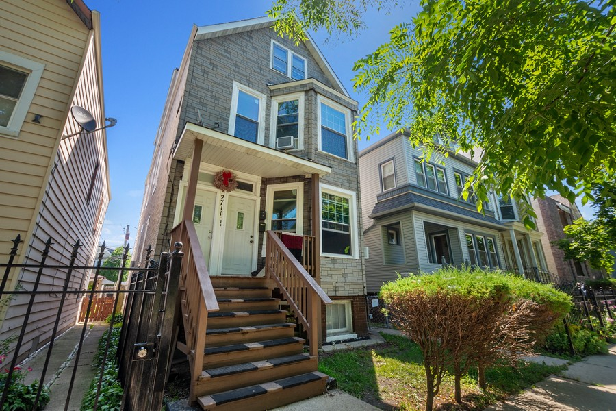 Real Estate Photography - 2711 N Hamlin Avenue, Chicago, IL, 60647 - Front View