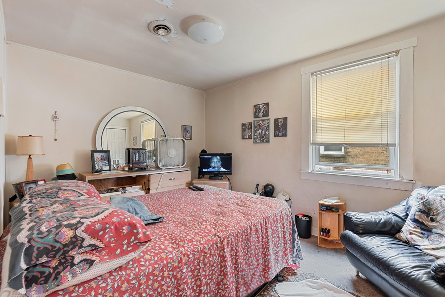 Real Estate Photography - 1944 Jackson, Evanston, IL, 60201 - 3rd Bedroom