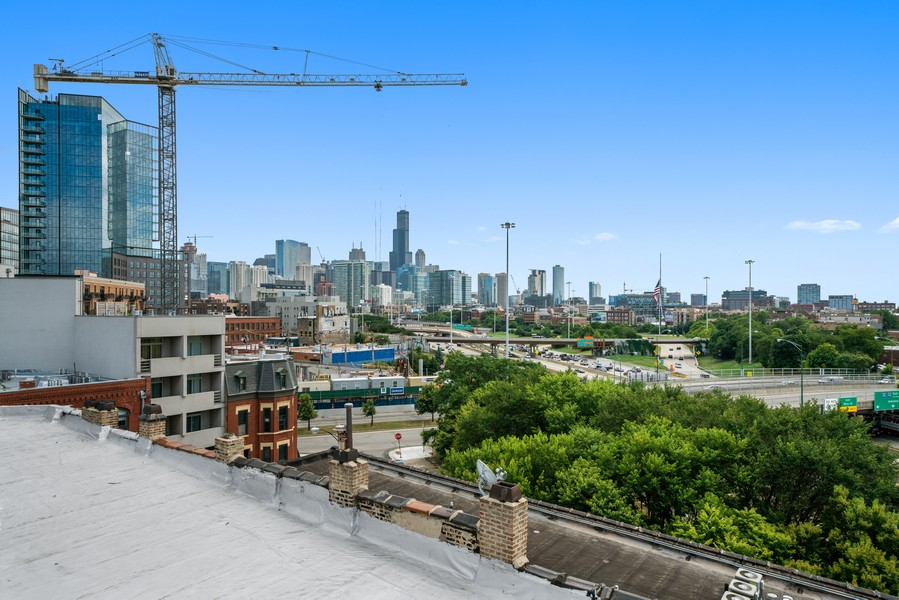Real Estate Photography - 744 N May St #3P, Chicago, IL, 60642 - View