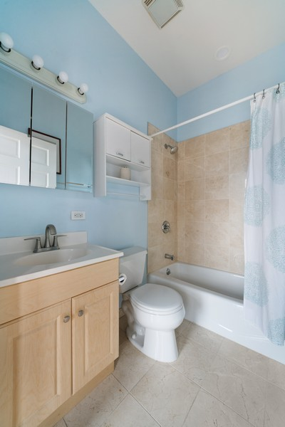 Real Estate Photography - 744 N May St #3P, Chicago, IL, 60642 - Bathroom