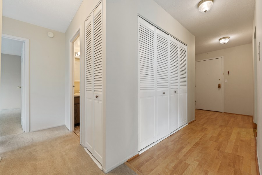 Real Estate Photography - 1110 Grove St., Unit 3C, Downers Grove, IL, 60515 - Hallway
