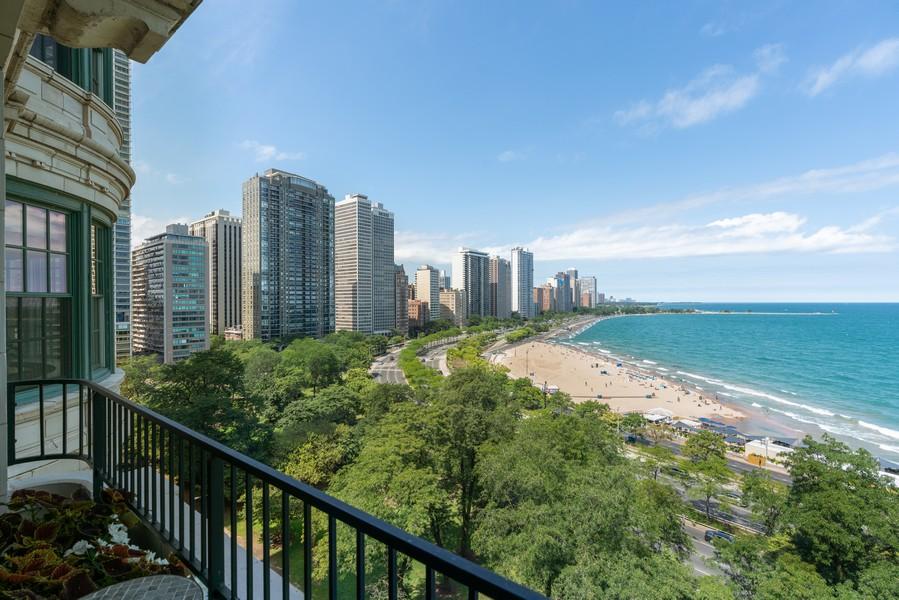 Real Estate Photography - 199 E Lake Shore Drive, 10E, Chicago, IL, 60611 - View