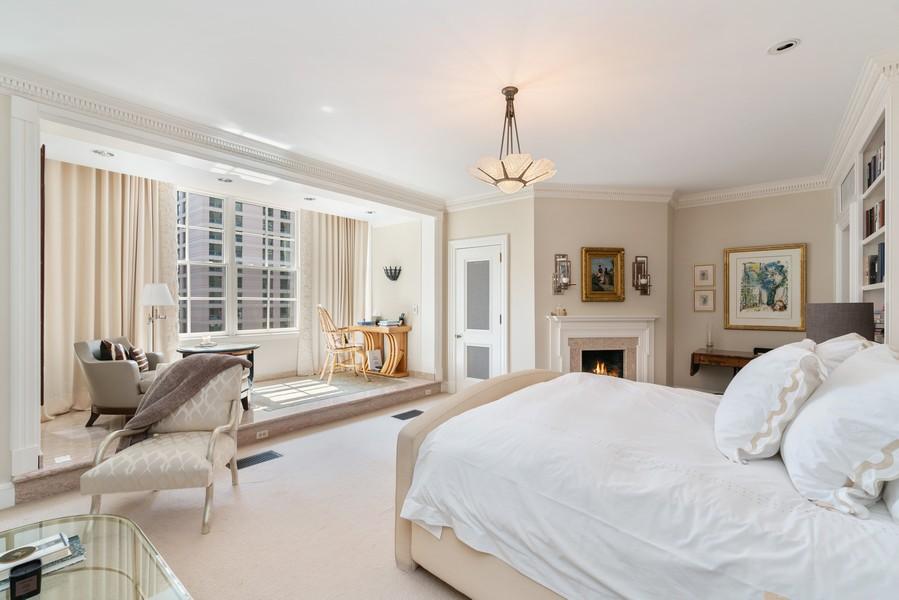 Real Estate Photography - 199 E Lake Shore Drive, 10E, Chicago, IL, 60611 - Master Bedroom
