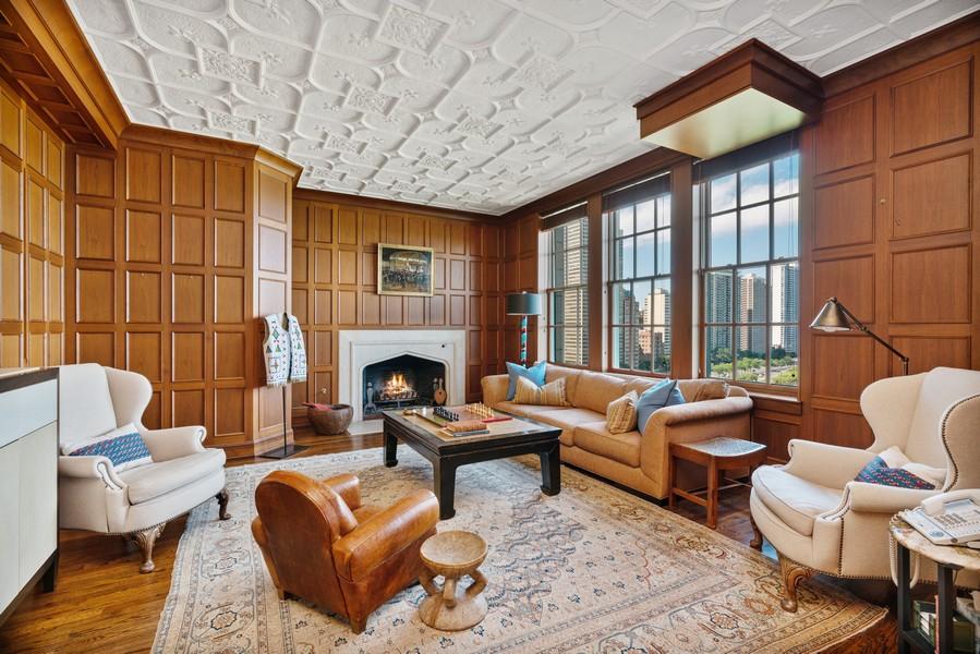 Real Estate Photography - 199 E Lake Shore Drive, 10E, Chicago, IL, 60611 -