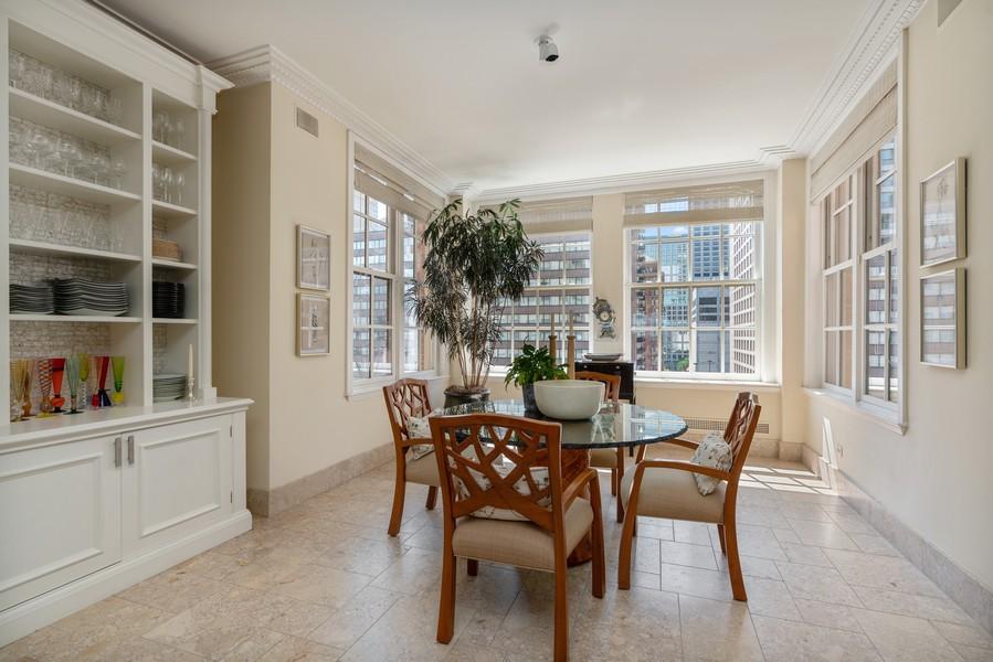 Real Estate Photography - 199 E Lake Shore Drive, 10E, Chicago, IL, 60611 - Breakfast Area