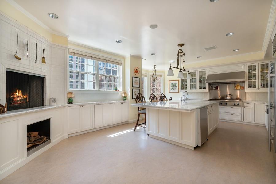 Real Estate Photography - 199 E Lake Shore Drive, 10E, Chicago, IL, 60611 - Kitchen