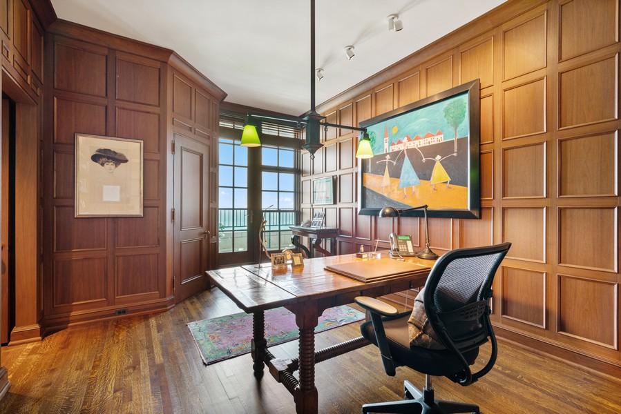 Real Estate Photography - 199 E Lake Shore Drive, 10E, Chicago, IL, 60611 - Office
