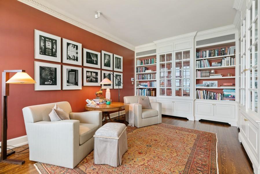 Real Estate Photography - 199 E Lake Shore Drive, 10E, Chicago, IL, 60611 - Study