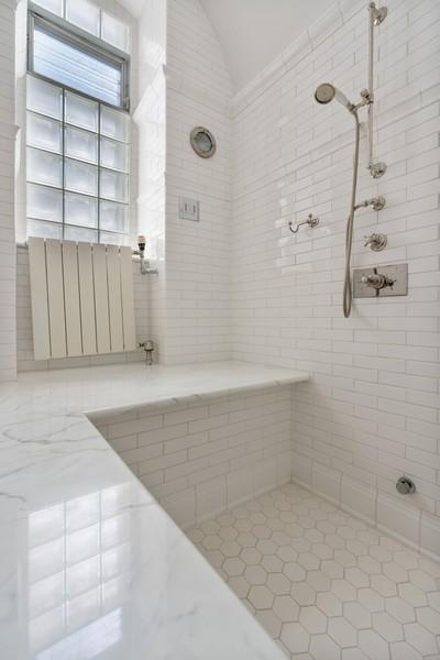 Real Estate Photography - 199 E Lake Shore Drive, 10E, Chicago, IL, 60611 - 2nd Bathroom