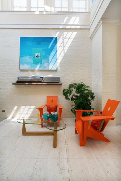 Real Estate Photography - 199 E Lake Shore Drive, 10E, Chicago, IL, 60611 - Sunroom