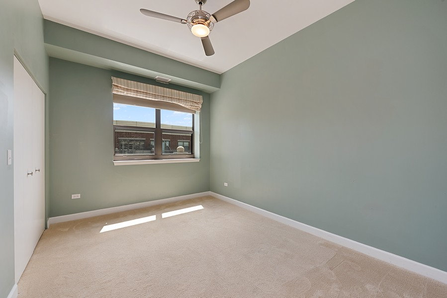Real Estate Photography - 1111 S State Street, Unit A702, Chicago, IL, 60605 - 2nd Bedroom
