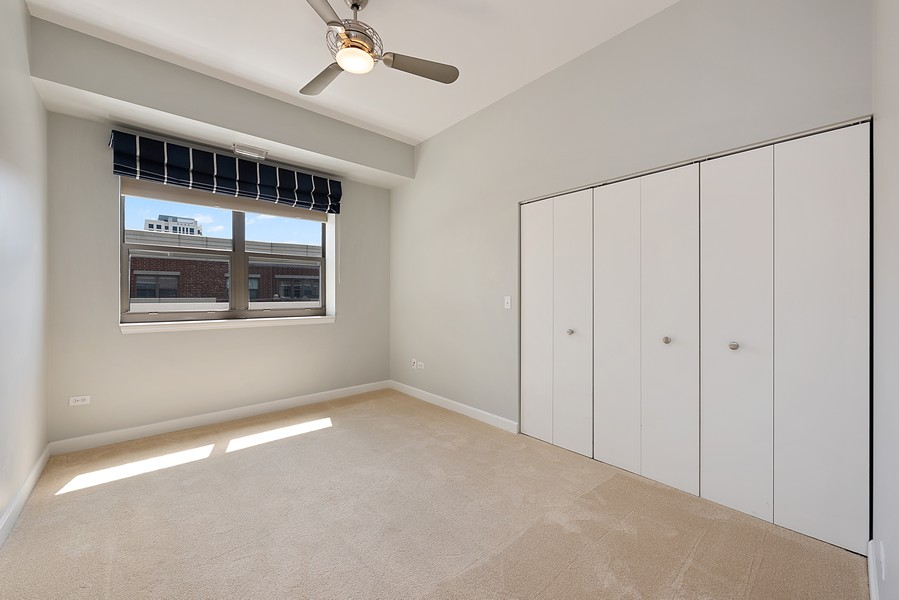 Real Estate Photography - 1111 S State Street, Unit A702, Chicago, IL, 60605 - 3rd Bedroom