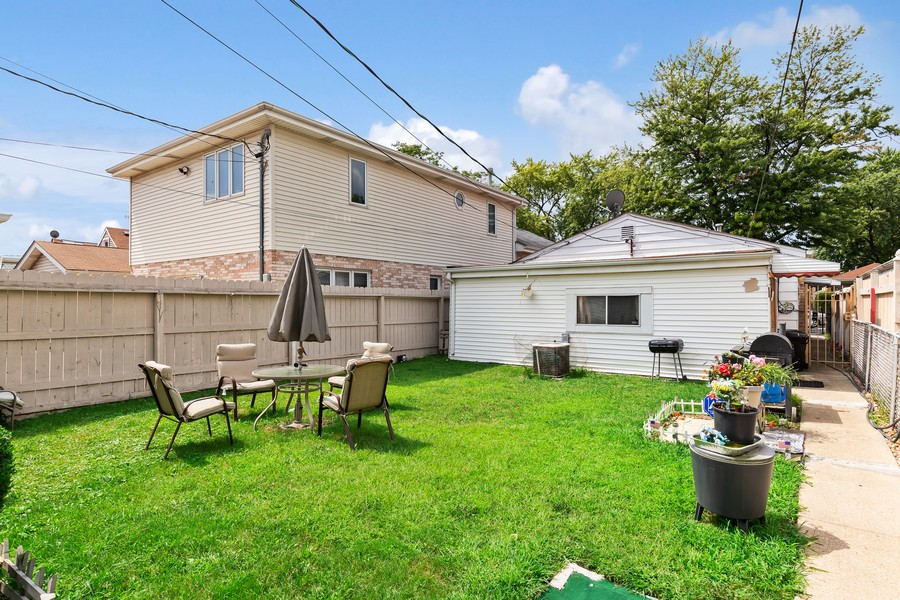 Real Estate Photography - 4541 S LAPORTE AVE, Chicago, IL, 60638 - Back Yard