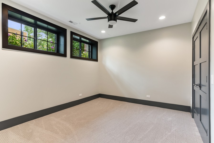 Real Estate Photography - 1942 W George, Chicago, IL, 60657 - 5th Bedroom