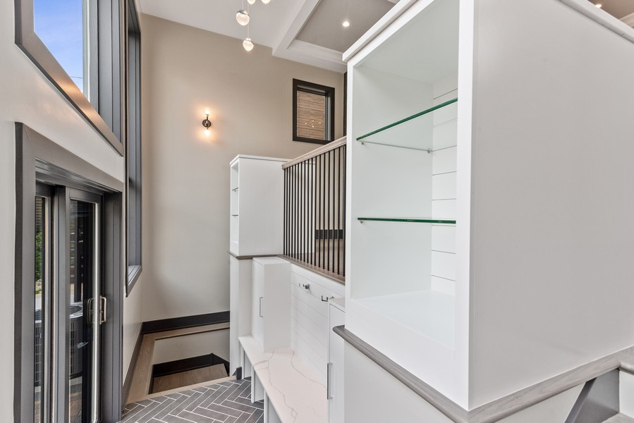 Real Estate Photography - 1942 W George, Chicago, IL, 60657 - Mudroom