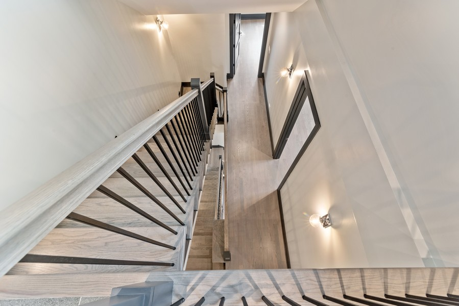 Real Estate Photography - 1942 W George, Chicago, IL, 60657 - Staircase