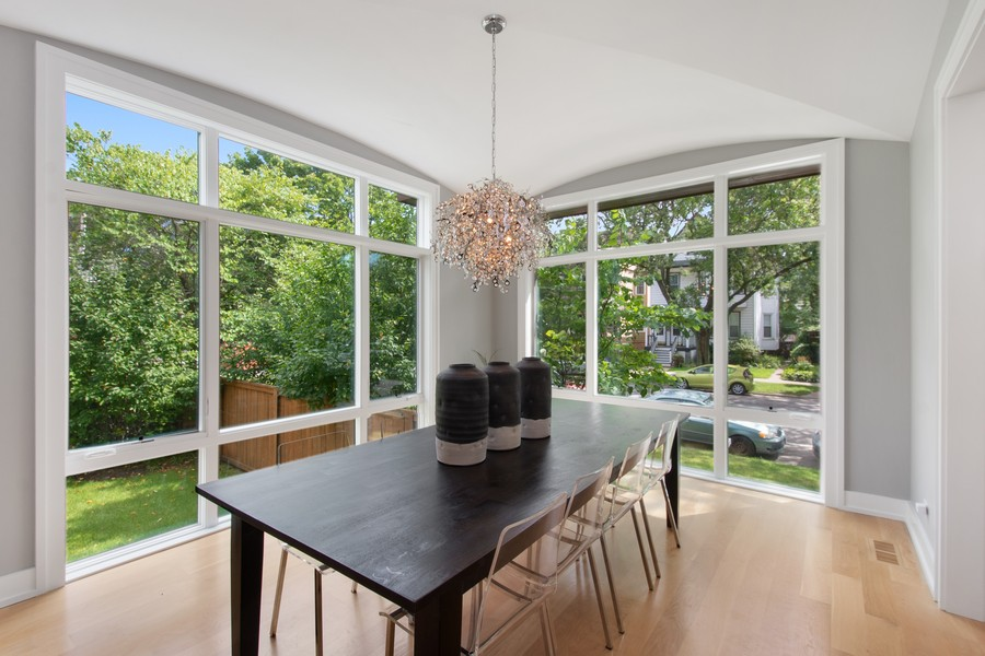 Real Estate Photography - 2026 W Wilson, Chicago, IL, 60625 - Dining Area