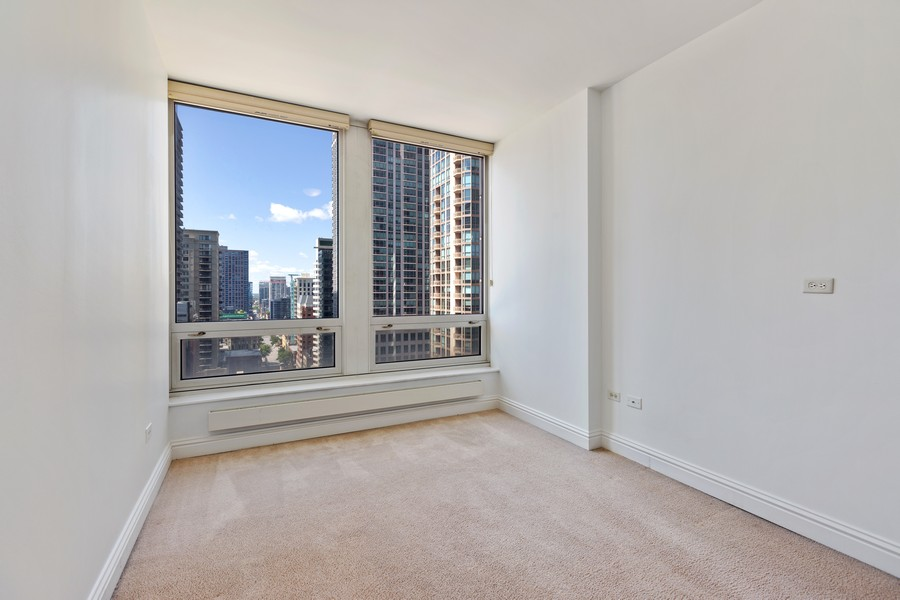 Real Estate Photography - 55 E Erie St, Unit 1801, Chicago, IL, 60611 - 2nd Bedroom