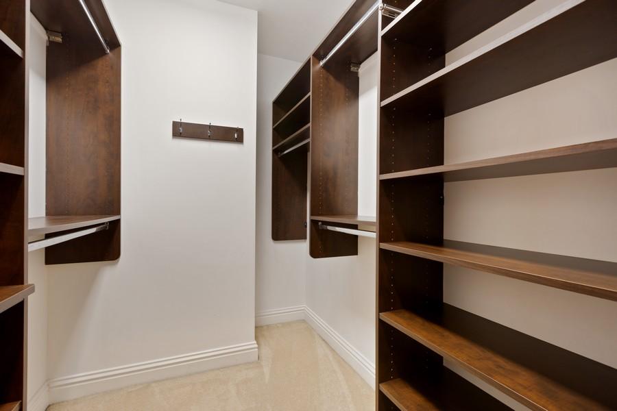 Real Estate Photography - 55 E Erie St, Unit 1801, Chicago, IL, 60611 - Master Bedroom Closet