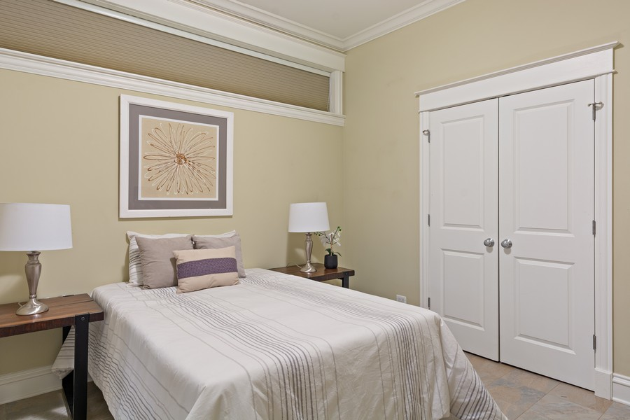 Real Estate Photography - 2712 N Lehmann Ct, Unit 1S, Chicago, IL, 60614 - 3rd Bedroom