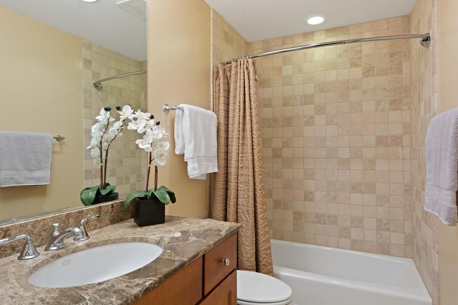Real Estate Photography - 2712 N Lehmann Ct, Unit 1S, Chicago, IL, 60614 - Bathroom