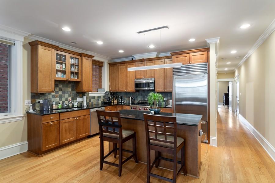 Real Estate Photography - 2712 N Lehmann Ct, Unit 1S, Chicago, IL, 60614 - Kitchen