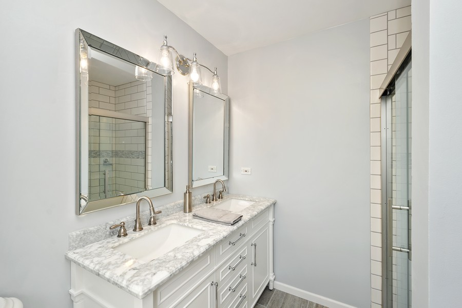Real Estate Photography - 5145 N Meade Ave, CHICAGO, IL, 60630 - Master Bathroom