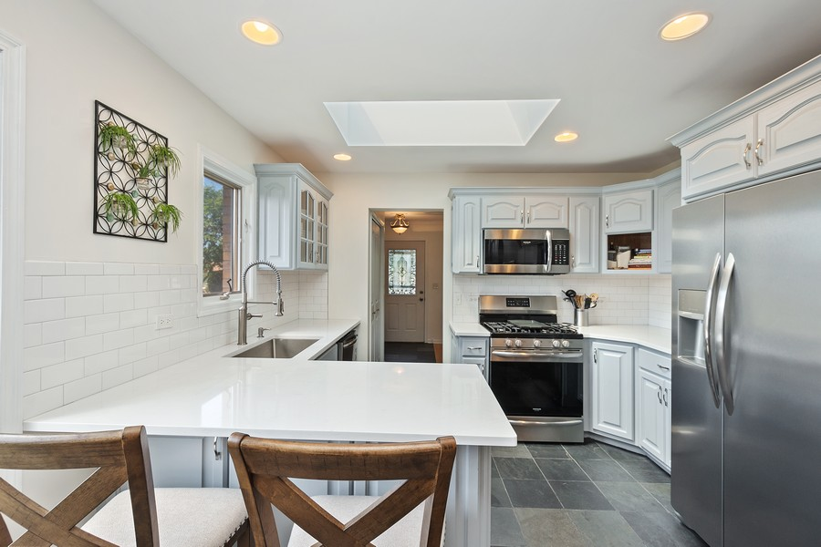 Real Estate Photography - 5145 N Meade Ave, CHICAGO, IL, 60630 - Kitchen