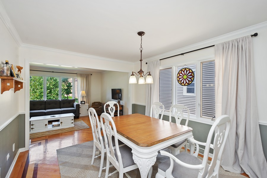 Real Estate Photography - 5145 N Meade Ave, CHICAGO, IL, 60630 - Dining Room