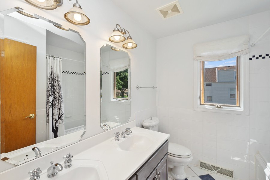 Real Estate Photography - 5145 N Meade Ave, CHICAGO, IL, 60630 - Bathroom