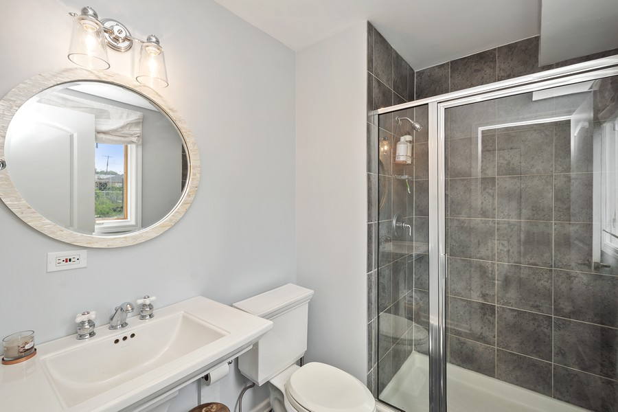Real Estate Photography - 5145 N Meade Ave, CHICAGO, IL, 60630 - 2nd Bathroom