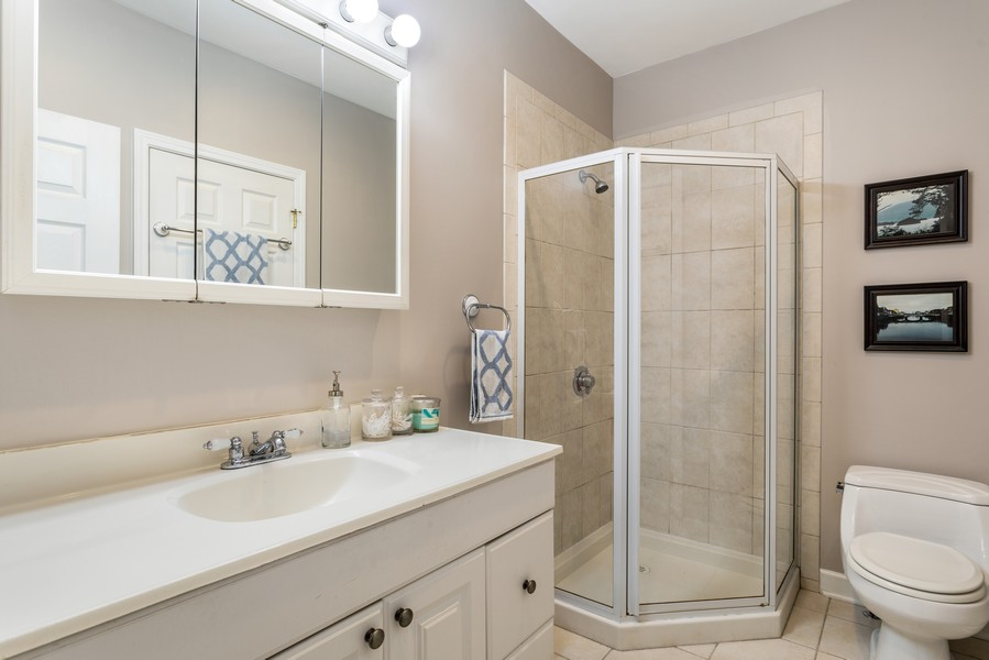 Real Estate Photography - 839 W Lawrence, Unit 2W, Chicago, IL, 60640 - Bathroom