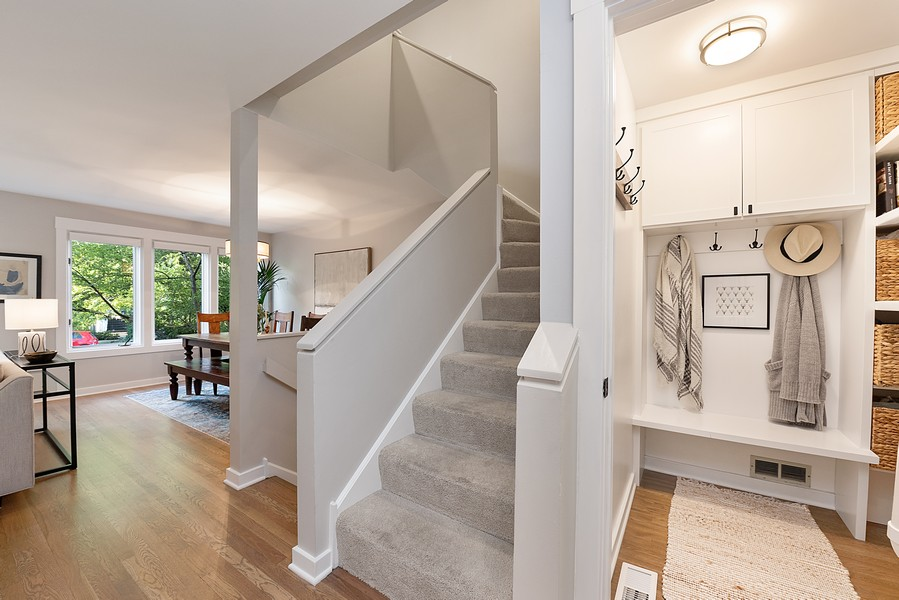 Real Estate Photography - 4554 N Paulina St, #6, Chicago, IL, 60640 - Mudroom