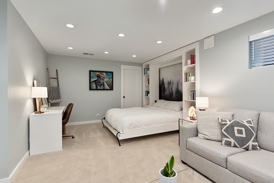 Real Estate Photography - 4554 N Paulina St, #6, Chicago, IL, 60640 - Family Room