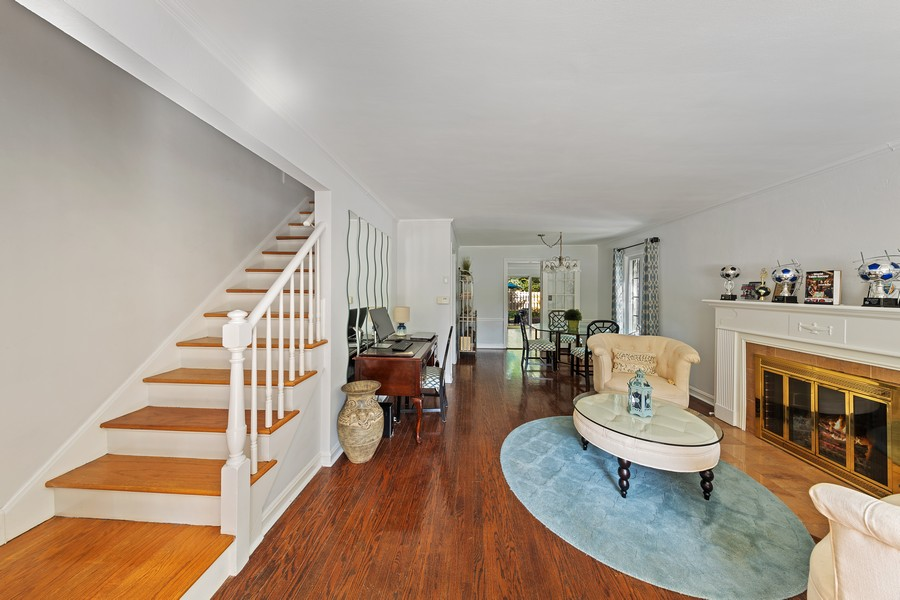 Real Estate Photography - 631 S Arlington Heights Rd, Arlington Heights, IL, 60004 - Living Room