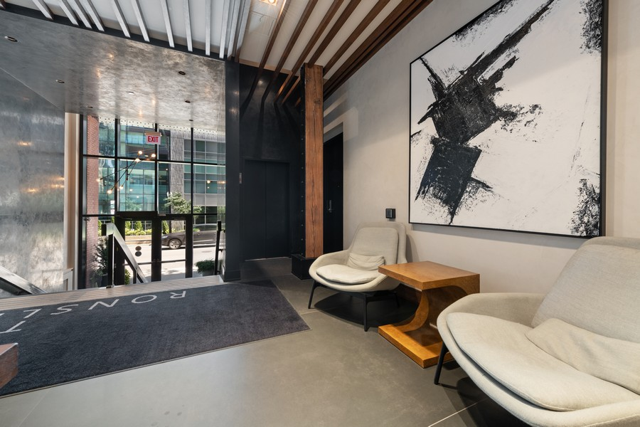 Real Estate Photography - 676 N Kingsbury, Unit 204, Chicago, IL, 60654 - Lobby