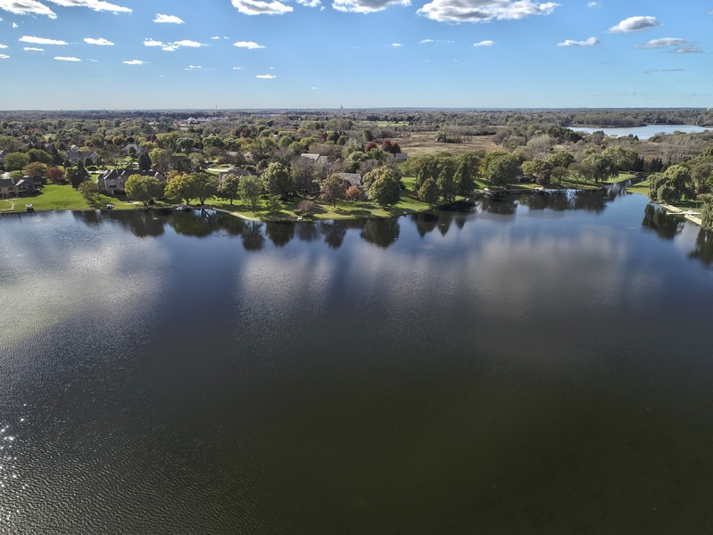 Real Estate Photography - 1411 Carlisle Dr, Barrington, IL, 60010 - Aerial View