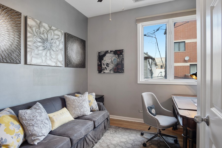 Real Estate Photography - 946 North Wood Street Unit 2, chicago, IL, 60622 - Office