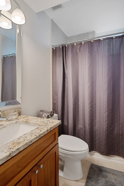 Real Estate Photography - 946 North Wood Street Unit 2, chicago, IL, 60622 - Bathroom