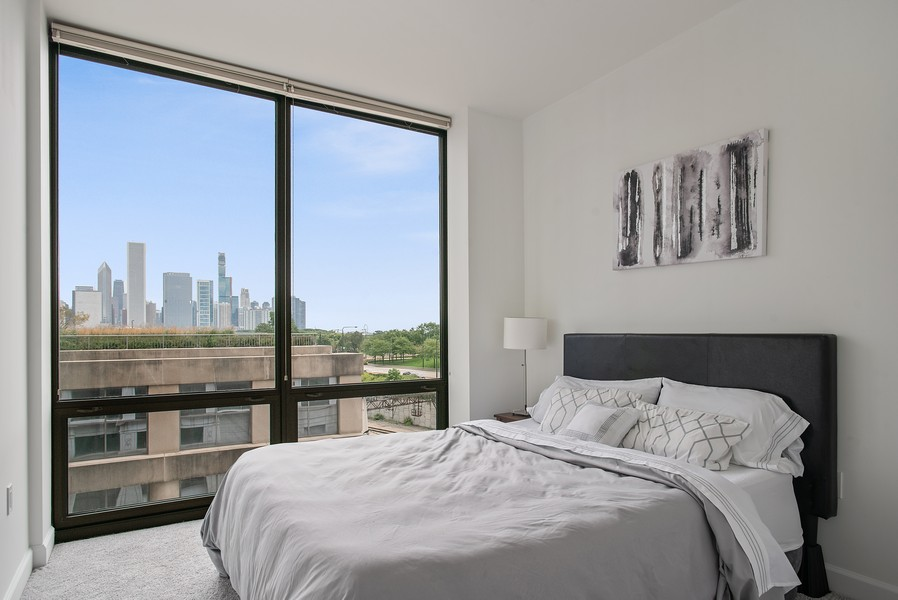 Real Estate Photography - 233 E 13th 603, Chicago, IL, 60605 - 2nd Bedroom