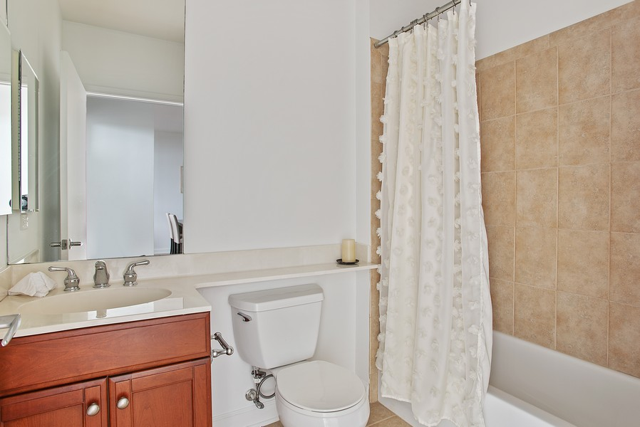 Real Estate Photography - 233 E 13th 603, Chicago, IL, 60605 - Bathroom