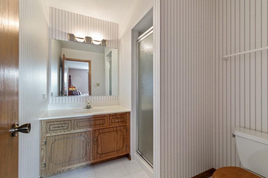 Real Estate Photography - 17731 Bernard Dr, Unit 3B, Orland Park, IL, 60467 - Master Bathroom